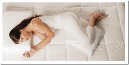 posição correta dormir